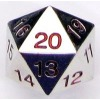 22mm d20 Spindown Metal: Red Thumb Nail