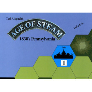 Age of Steam Expansion: 1830's Pennsylvania and Northern California
