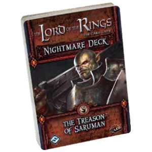 The Lord of the Rings LCG: The Treason of Saruman Nightmare Deck