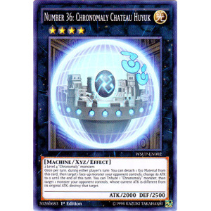 main collectable card games yugioh number 36 chronomaly chateau huyukYugioh Number 36