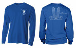 Rapid Dry (Long Sleeve) (Dri-Fit T-Shirt (Long Sleeve), DGA Chopsticks Logo Front and DGA Basket Logo Back)