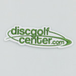 Disc Golf Center Stacked Logo Iron on Patch (Patch, DGC Stacked Logo)