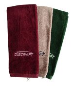 Discraft Golf Towel (Embroidered Logo Golf Towel, Discraft Logo (Front))