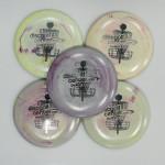 Disc Golf Center Galactic Mini Disc (Galactic DX, Name and Basket Logo)