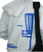 Full Zip Hoodie Sweatshirt (Full Zip Hoodie Sweatshirt, Basket and Discraft (Back) and Discraft (Front))