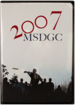 Marshall Street Disc Golf Champions 2007 (MSDGC 2007, DVD)