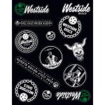 Westside Sticker Sheet (Sticker Sheet, Assorted Stickers)