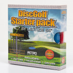 Advanced Intermediate Disc Golf Set (Retro Set, Standard)