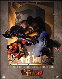 New Legends, Poster Art