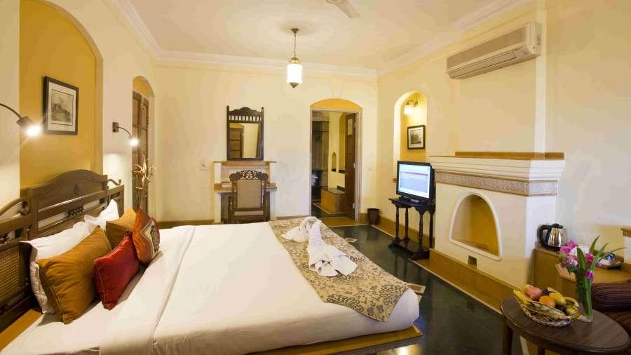 The Haveli Hari Ganga  Haridwar Superior Room at The Haveli Hari Ganga Hotel Haridwar