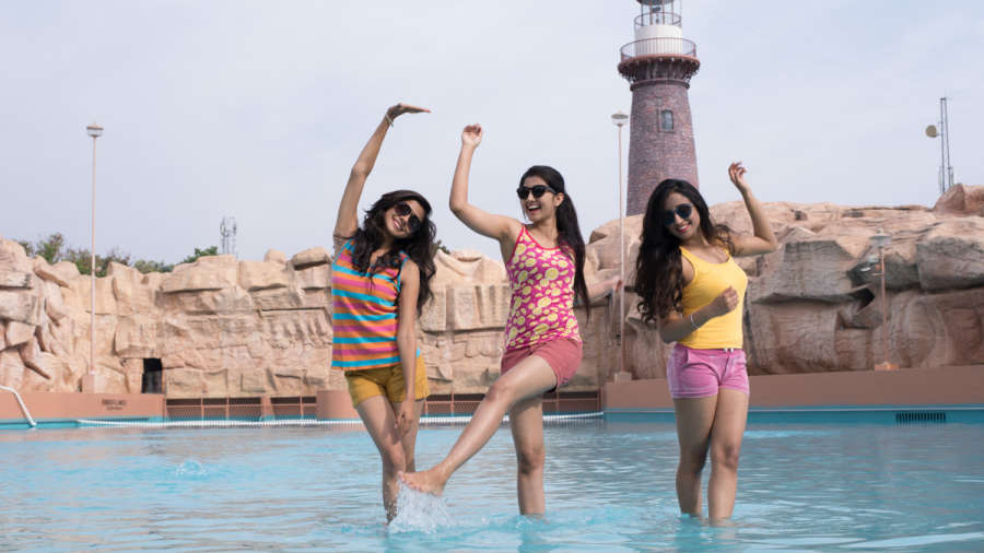 Wave Pools Wonderla Amusement Park Hyderabad Family Fun