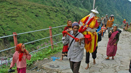 Chardham Kedarnath The Trek Pilgrim - The Chardham Camps Uttarkashi