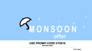 Leisure Hotels  Monsoon Promo code