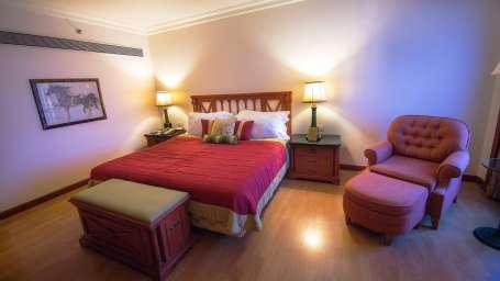 The Orchid - Five Star Ecotel Hotel Mumbai Mayflower Suite Bedroom 1 Orchid Mumbai Hotel