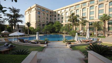 The Grand New Delhi New Delhi exterior the grand new delhi 5 star hotel in delhi