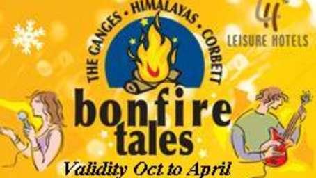 The Haveli Hari Ganga Hotel, Haridwar Haridwar bonfire-tales- logo with Validity