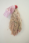 Aimee Hertog - Fairy Godmother, 2012 32 x 10 x 8 inches   mop, paint, sock bag, sponge, glue, pigment, resin
